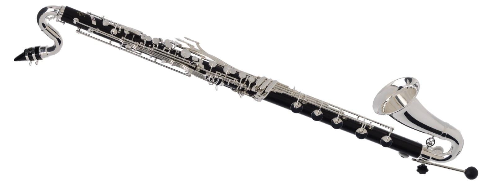Buffet Tosca Bb 1195 Grenadilla Low C Bass Clarinet Silver ...